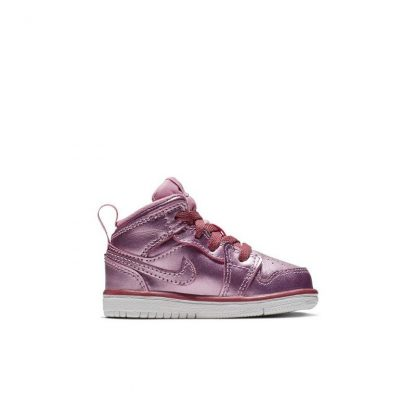 4fafdc963d017 50% Off Discount Jordan 1 Mid SE Pink Toddler Kids Shoe – cheapest nike ...