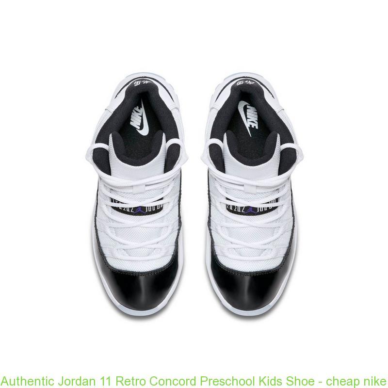 finest selection 7dc22 d9a03 Authentic Jordan 11 Retro Concord Preschool Kids Shoe - cheap nike tn shoes  wholesale - R0354