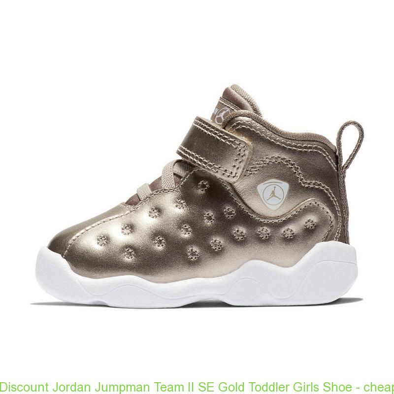 3272099c304b Discount Jordan Jumpman Team II SE Gold Toddler Girls Shoe – cheap ...