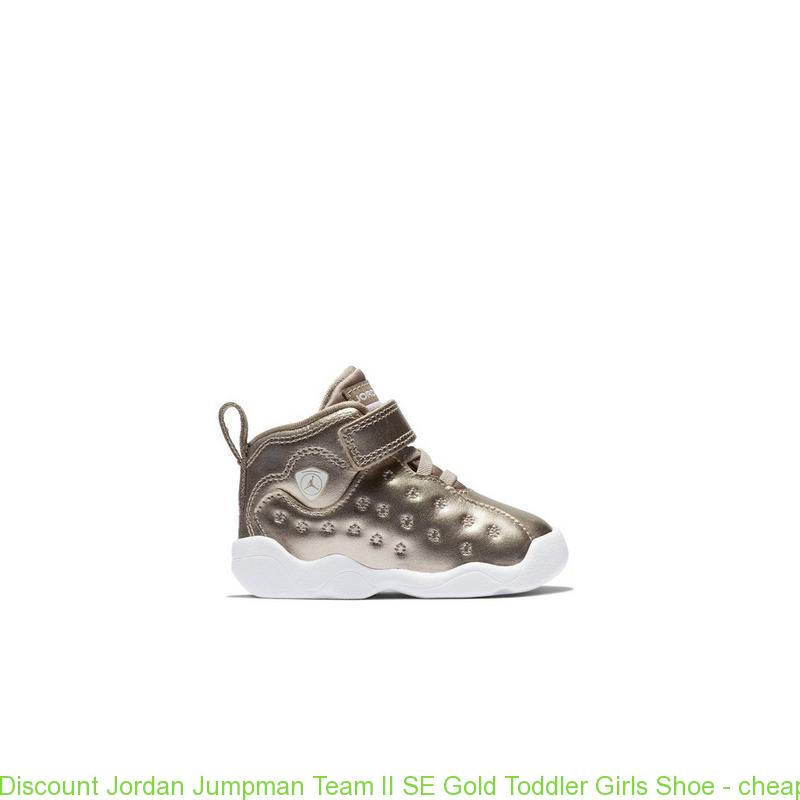 9abb273db3f77 Discount Jordan Jumpman Team II SE Gold Toddler Girls Shoe – cheap nike  shoes size 13 ...