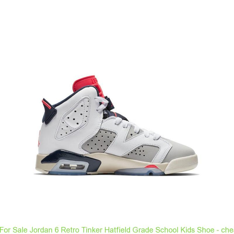 free shipping 45676 391f0 For Sale Jordan 6 Retro Tinker Hatfield Grade School Kids Shoe ...