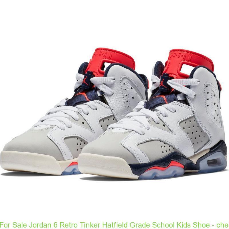 5badc94a2467ec For Sale Jordan 6 Retro Tinker Hatfield Grade School Kids Shoe ...