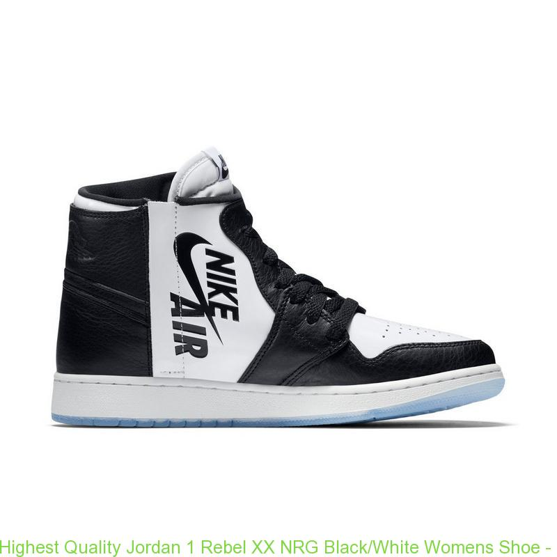 best service ec5eb d28ba Highest Quality Jordan 1 Rebel XX NRG Black/White Womens Shoe - cheap  jordans pay with paypal - Q0346