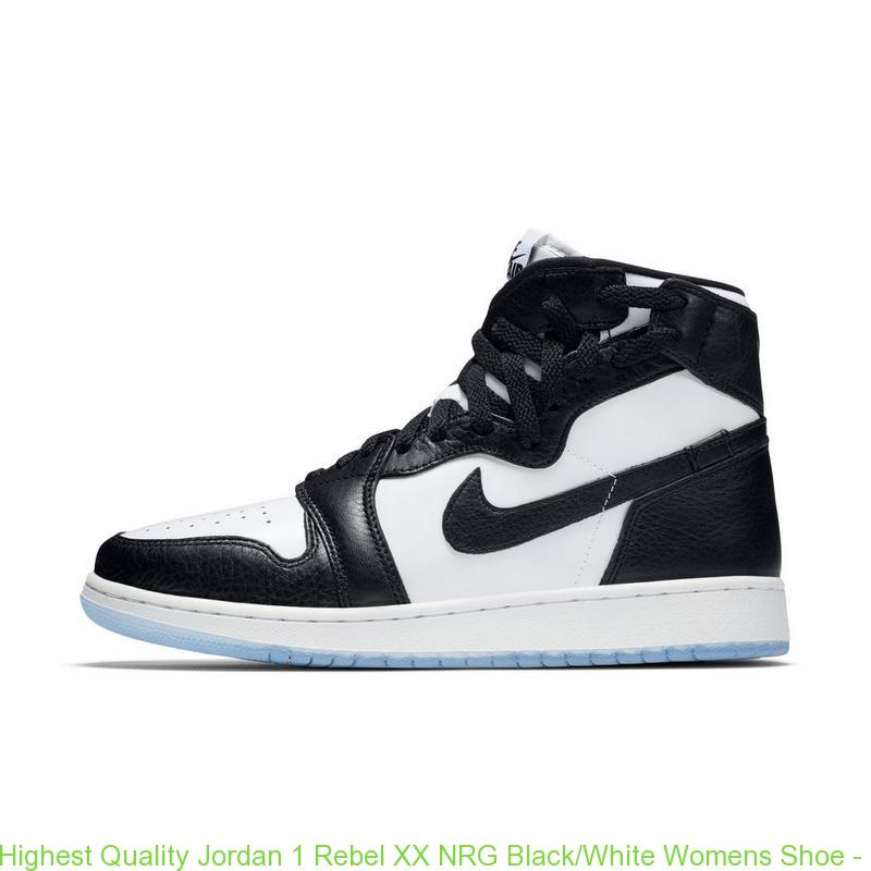 best service 180a8 52432 Highest Quality Jordan 1 Rebel XX NRG Black/White Womens Shoe - cheap  jordans pay with paypal - Q0346