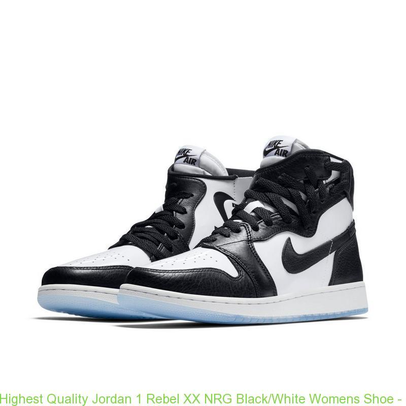 best service c9661 61708 Highest Quality Jordan 1 Rebel XX NRG Black/White Womens Shoe - cheap  jordans pay with paypal - Q0346