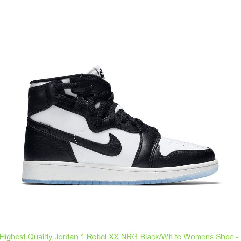 best service a7165 23a16 Highest Quality Jordan 1 Rebel XX NRG Black/White Womens Shoe - cheap  jordans pay with paypal - Q0346