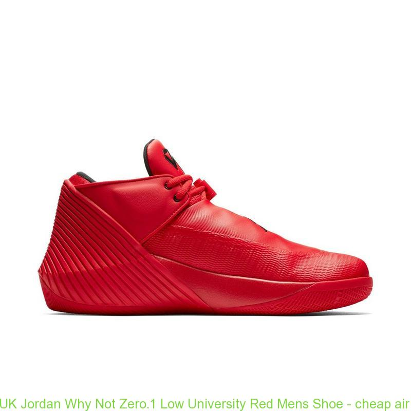 low priced a143c 0f9d1 UK Jordan Why Not Zero.1 Low University Red Mens Shoe – cheap air jordans  ...