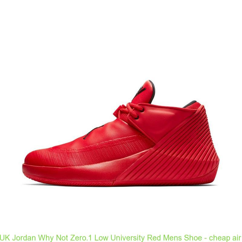 new product a0a16 d4291 UK Jordan Why Not Zero.1 Low University Red Mens Shoe ...